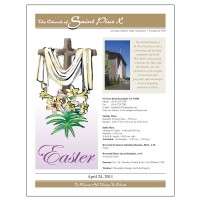 St. Pius X Special Easter Bulletin