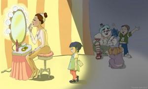 Vanity, Circus